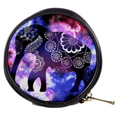 Stars Sky Galaxy Elephant Mini Makeup Case by Wanni