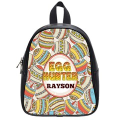 Egg Hunter Colorful School Bag (small) by makeunique