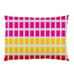 Squares Pattern Background Colorful Squares Wallpaper Pillow Case