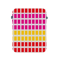 Squares Pattern Background Colorful Squares Wallpaper Apple Ipad 2/3/4 Protective Soft Cases by Simbadda