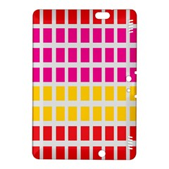 Squares Pattern Background Colorful Squares Wallpaper Kindle Fire Hdx 8 9  Hardshell Case by Simbadda