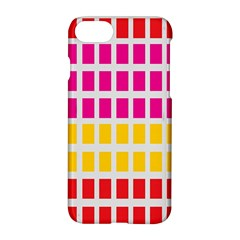 Squares Pattern Background Colorful Squares Wallpaper Apple Iphone 7 Hardshell Case by Simbadda