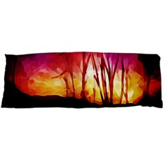 Fall Forest Background Body Pillow Case (Dakimakura)