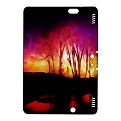 Fall Forest Background Kindle Fire Hdx 8 9  Hardshell Case by Simbadda