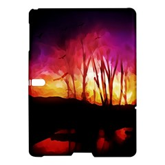 Fall Forest Background Samsung Galaxy Tab S (10 5 ) Hardshell Case