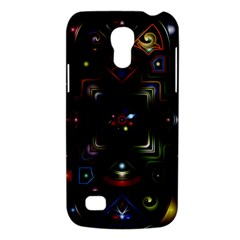 Geometric Line Art Background In Multi Colours Galaxy S4 Mini by Simbadda