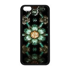 Kaleidoscope With Bits Of Colorful Translucent Glass In A Cylinder Filled With Mirrors Apple Iphone 5c Seamless Case (black) by Simbadda