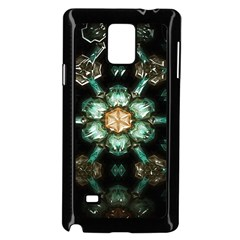 Kaleidoscope With Bits Of Colorful Translucent Glass In A Cylinder Filled With Mirrors Samsung Galaxy Note 4 Case (black) by Simbadda