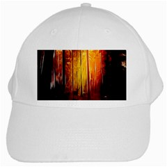 Artistic Effect Fractal Forest Background White Cap by Simbadda