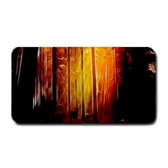 Artistic Effect Fractal Forest Background Medium Bar Mats by Simbadda