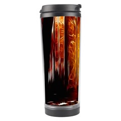 Artistic Effect Fractal Forest Background Travel Tumbler by Simbadda