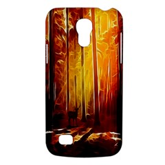 Artistic Effect Fractal Forest Background Galaxy S4 Mini by Simbadda