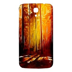 Artistic Effect Fractal Forest Background Samsung Galaxy Mega I9200 Hardshell Back Case by Simbadda