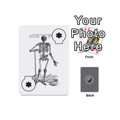 Skeleton Deck V1 By Kevan Davis   Playing Cards 54 Designs (mini)   Iw1l3ruf2l55   Www Artscow Com Front - Joker2