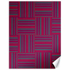 Pattern Canvas 18  X 24   by Valentinaart