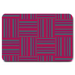 Pattern Large Doormat  by Valentinaart