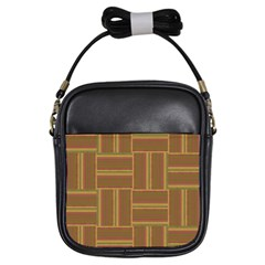 Pattern Girls Sling Bags by Valentinaart