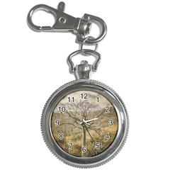 Ceiba Tree At Dry Forest Guayas District   Ecuador Key Chain Watches by dflcprints