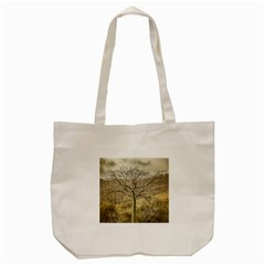 Ceiba Tree At Dry Forest Guayas District   Ecuador Tote Bag (cream) by dflcprints