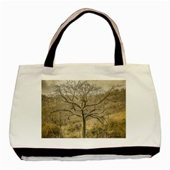 Ceiba Tree At Dry Forest Guayas District   Ecuador Basic Tote Bag (two Sides) by dflcprints
