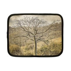 Ceiba Tree At Dry Forest Guayas District   Ecuador Netbook Case (small)  by dflcprints