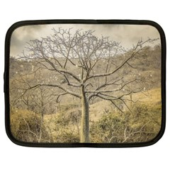 Ceiba Tree At Dry Forest Guayas District   Ecuador Netbook Case (large) by dflcprints