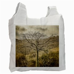 Ceiba Tree At Dry Forest Guayas District   Ecuador Recycle Bag (two Side)  by dflcprints