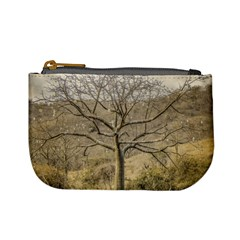Ceiba Tree At Dry Forest Guayas District   Ecuador Mini Coin Purses by dflcprints
