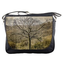 Ceiba Tree At Dry Forest Guayas District   Ecuador Messenger Bags by dflcprints