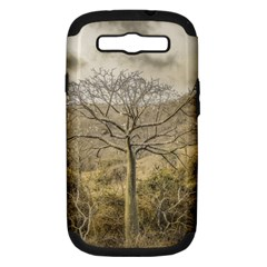 Ceiba Tree At Dry Forest Guayas District   Ecuador Samsung Galaxy S Iii Hardshell Case (pc+silicone) by dflcprints