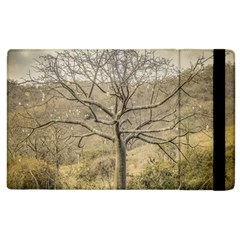 Ceiba Tree At Dry Forest Guayas District   Ecuador Apple Ipad 3/4 Flip Case by dflcprints