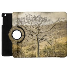 Ceiba Tree At Dry Forest Guayas District   Ecuador Apple Ipad Mini Flip 360 Case by dflcprints