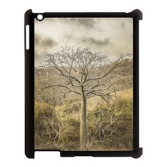 Ceiba Tree At Dry Forest Guayas District   Ecuador Apple Ipad 3/4 Case (black) by dflcprints