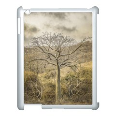 Ceiba Tree At Dry Forest Guayas District   Ecuador Apple Ipad 3/4 Case (white) by dflcprints