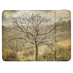Ceiba Tree At Dry Forest Guayas District   Ecuador Samsung Galaxy Tab 7  P1000 Flip Case by dflcprints