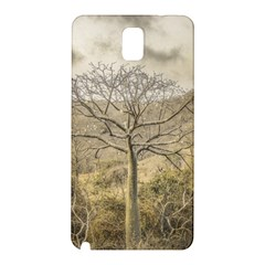 Ceiba Tree At Dry Forest Guayas District   Ecuador Samsung Galaxy Note 3 N9005 Hardshell Back Case by dflcprints