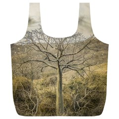 Ceiba Tree At Dry Forest Guayas District   Ecuador Full Print Recycle Bags (l)  by dflcprints