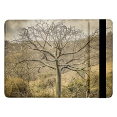 Ceiba Tree At Dry Forest Guayas District   Ecuador Samsung Galaxy Tab Pro 12 2  Flip Case by dflcprints