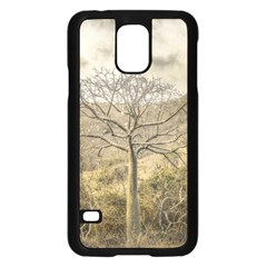 Ceiba Tree At Dry Forest Guayas District   Ecuador Samsung Galaxy S5 Case (black) by dflcprints