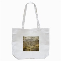 Ceiba Tree At Dry Forest Guayas District   Ecuador Tote Bag (white) by dflcprints