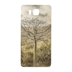 Ceiba Tree At Dry Forest Guayas District   Ecuador Samsung Galaxy Alpha Hardshell Back Case by dflcprints