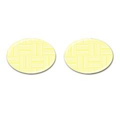Pattern Cufflinks (oval) by Valentinaart