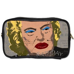 Happy Birthday Mr  President  Toiletries Bags 2 Side by Valentinaart
