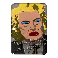 Happy Birthday Mr  President  Samsung Galaxy Tab Pro 12 2 Hardshell Case by Valentinaart