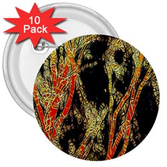 Artistic Effect Fractal Forest Background 3  Buttons (10 Pack)  by Simbadda