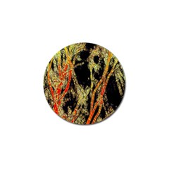 Artistic Effect Fractal Forest Background Golf Ball Marker by Simbadda