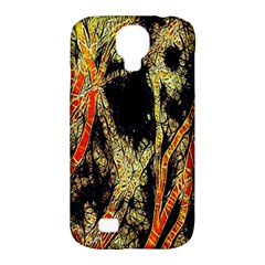 Artistic Effect Fractal Forest Background Samsung Galaxy S4 Classic Hardshell Case (pc+silicone) by Simbadda