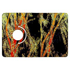 Artistic Effect Fractal Forest Background Kindle Fire Hdx Flip 360 Case by Simbadda