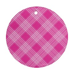 Pattern Round Ornament (two Sides) by Valentinaart