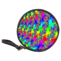 Digital Rainbow Fractal Classic 20 Cd Wallets by Simbadda